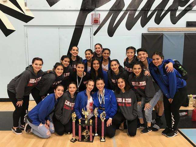 Dance Team wins 1st place at Sharp Championships!